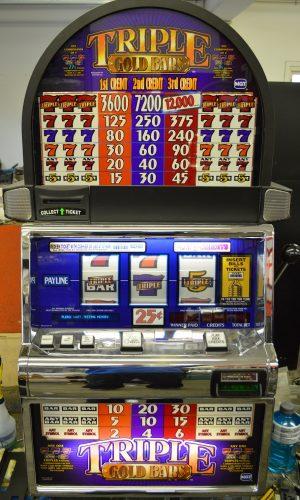 Triple Gold bars Slot Machine