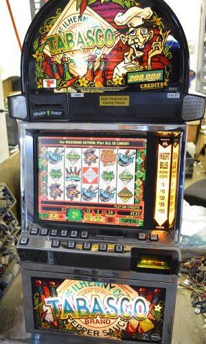 Tabasco video slot machine
