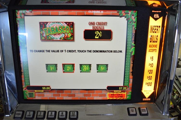 igt tabasco slot machine