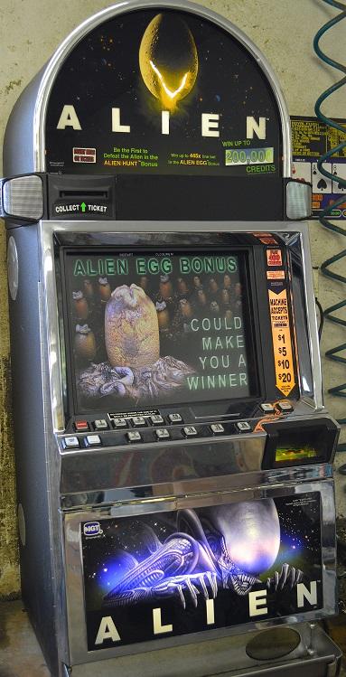 igt alien slot machine payout statistics