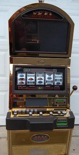 Blazing 7's slot machine