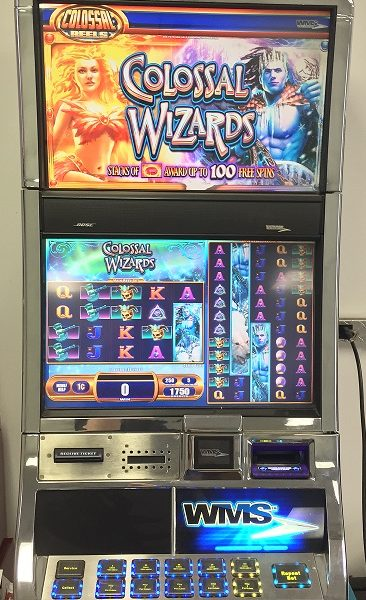 colossal wizards slot machine music
