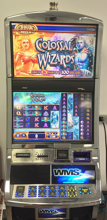 colossal wizards slot machine online