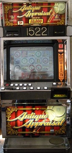 Antique Appraisal video slot machine