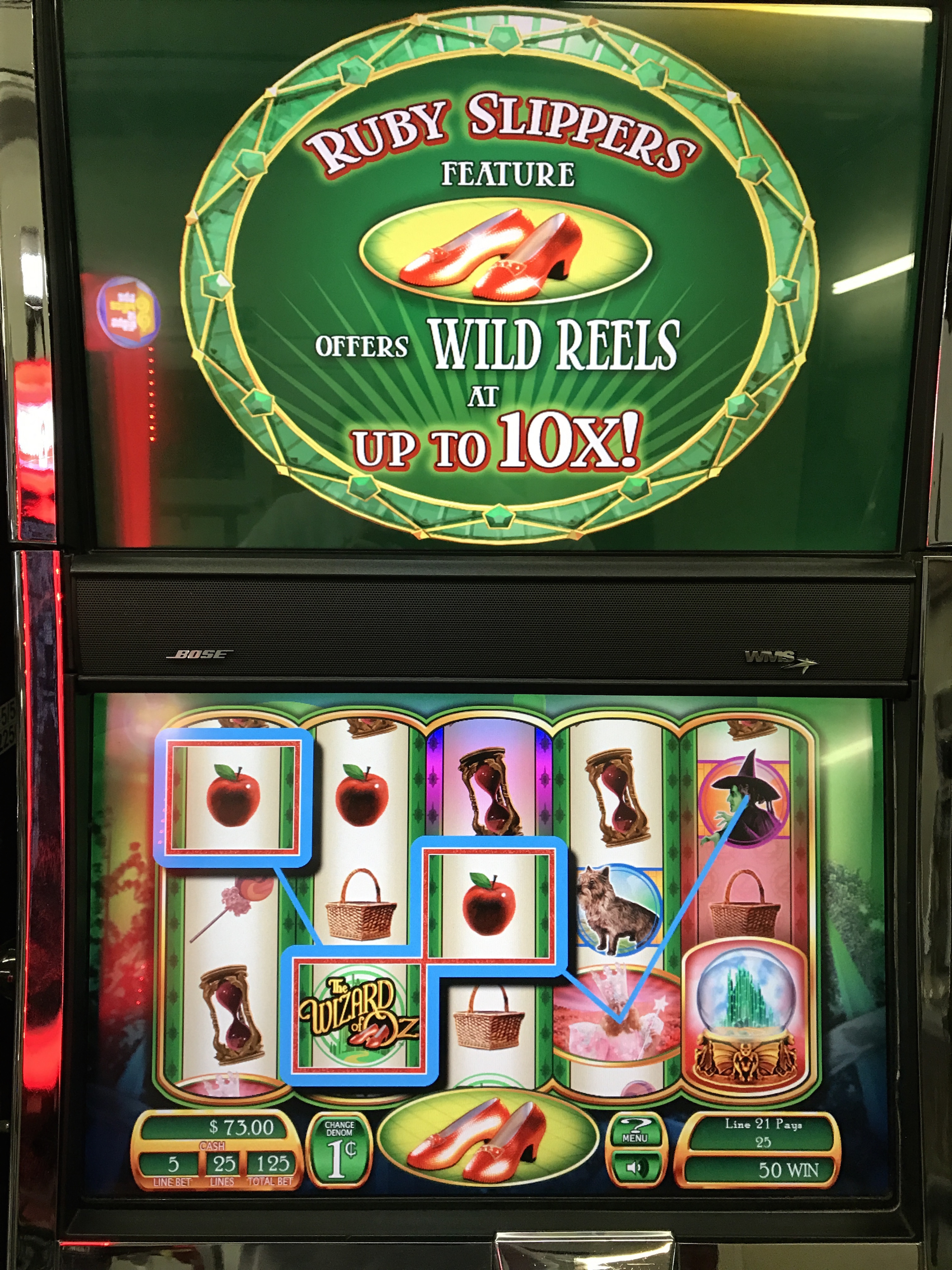 Wizard Of Oz Ruby Slippers Slot Machine Slot Machines