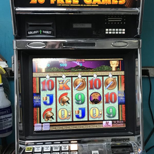 pompeii slot machines for sale