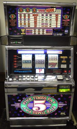 5x Pay Multi-Line slot machine
