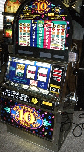 IGT 10X pay slot machine