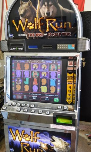 Wolf Run video slot machine