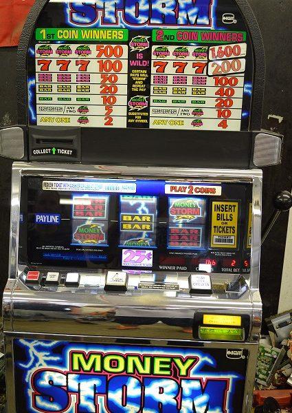 Hurricane slot machine