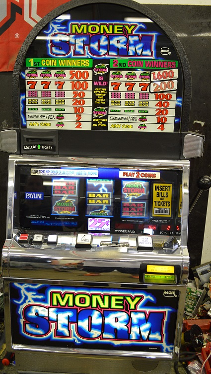 Money Storm slot machine