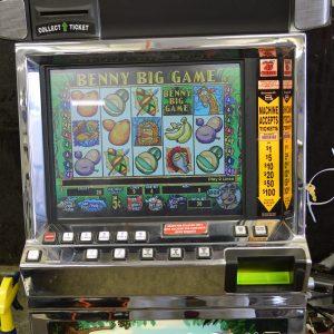 Benny Big Game video slot machine