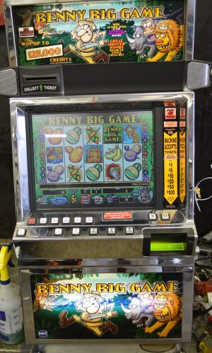 Benny Big Game video slot machine