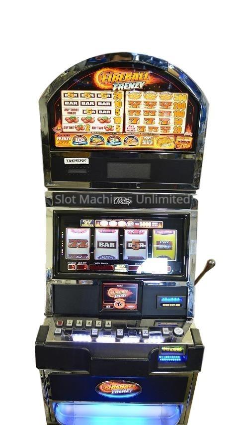 Fireball Frenzy slot machine