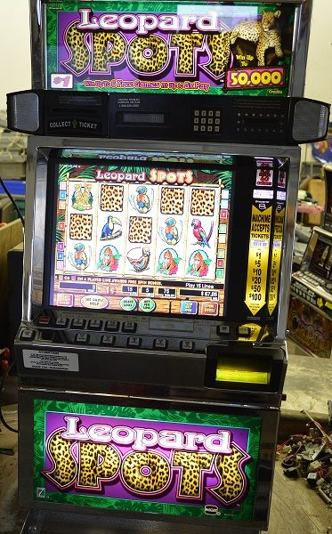 Leopard Spots video slot machine