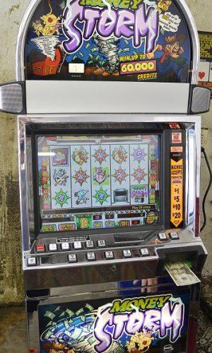 Money Storm video slot machine