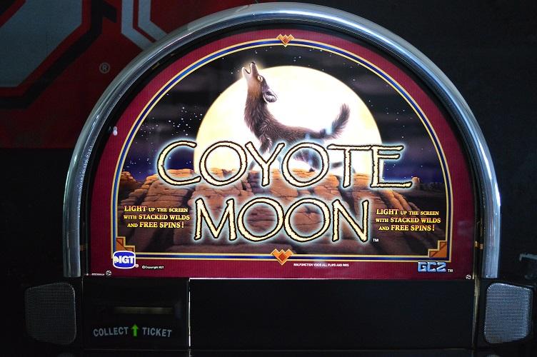 scratch silver Slot Machine