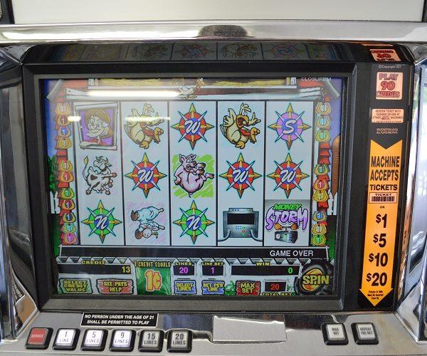 Money Storm Video Slot Machine Slot Machines Unlimited