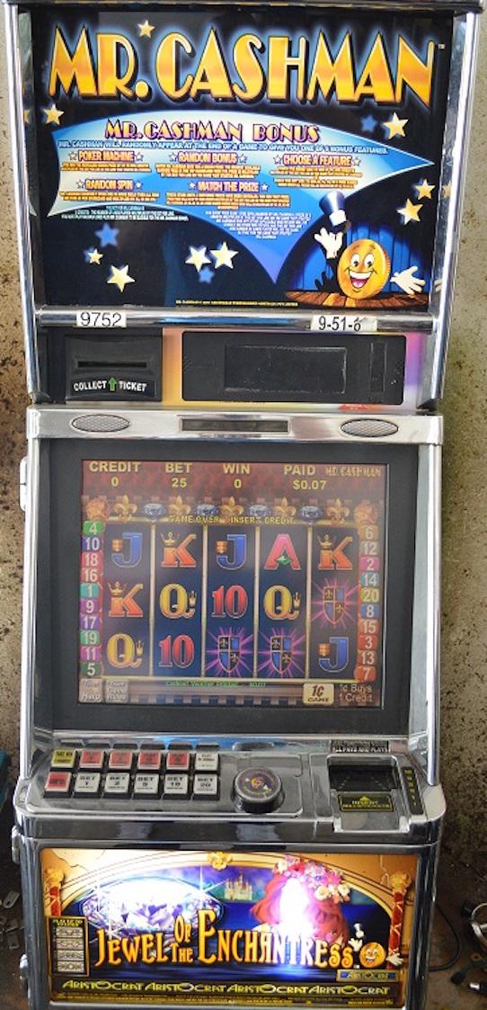 Mr. Cashman slot machine