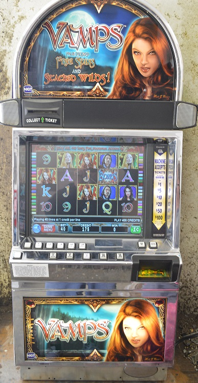 Vamps video slot