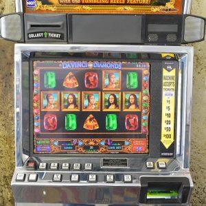 Davinci Diamonds video slot machine