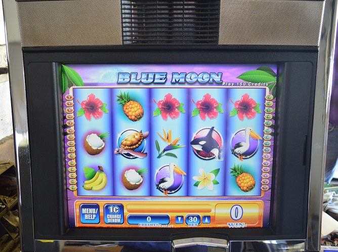 Blue moon poker machine games