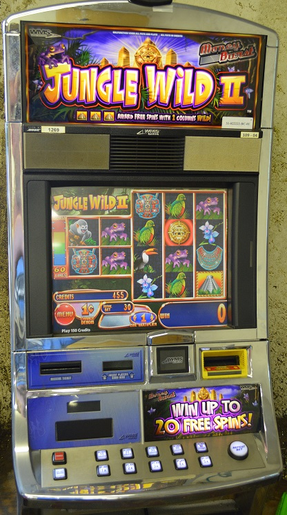 jungle 2 slot machine