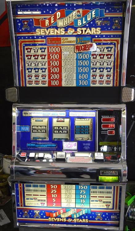 Sevens and Stars slot machine