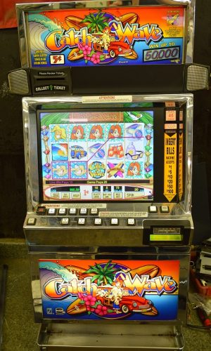 Catch a Wave video slot machine