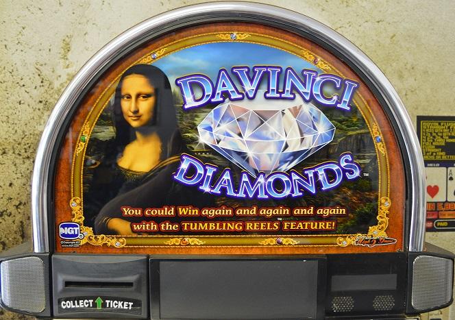 davinci diamonds slot machine for sale