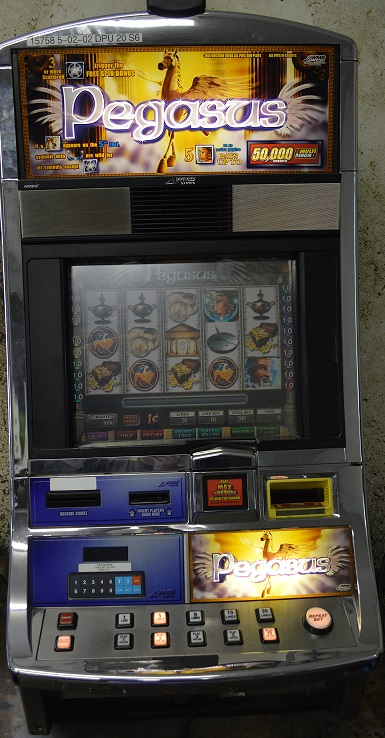 Pegasus slot machine