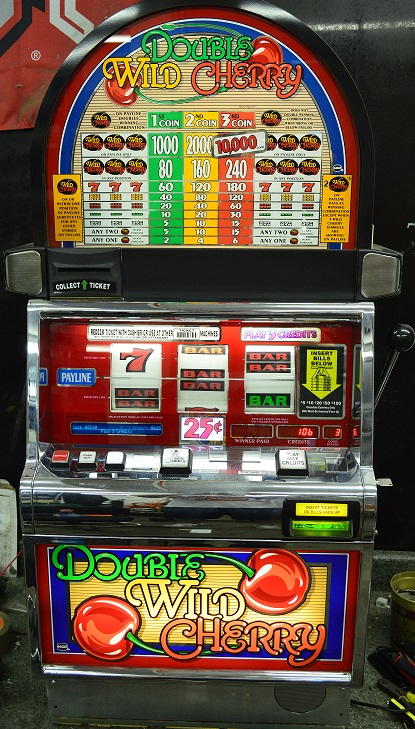 Double Wild Cherry slot machine