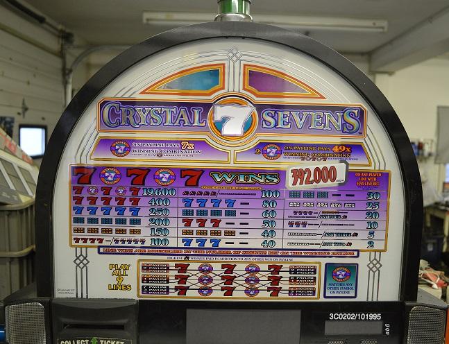 5 reel slot machine