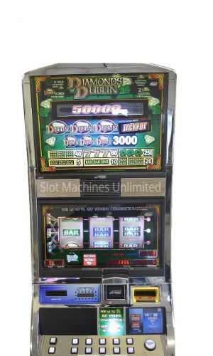 Diamonds of Dublin slot machine
