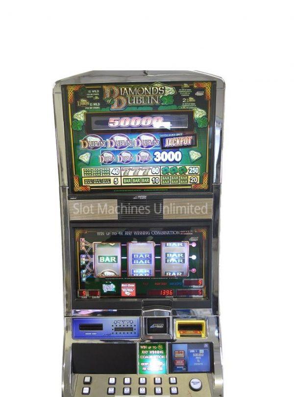 Diamonds of Dublin slot machine
