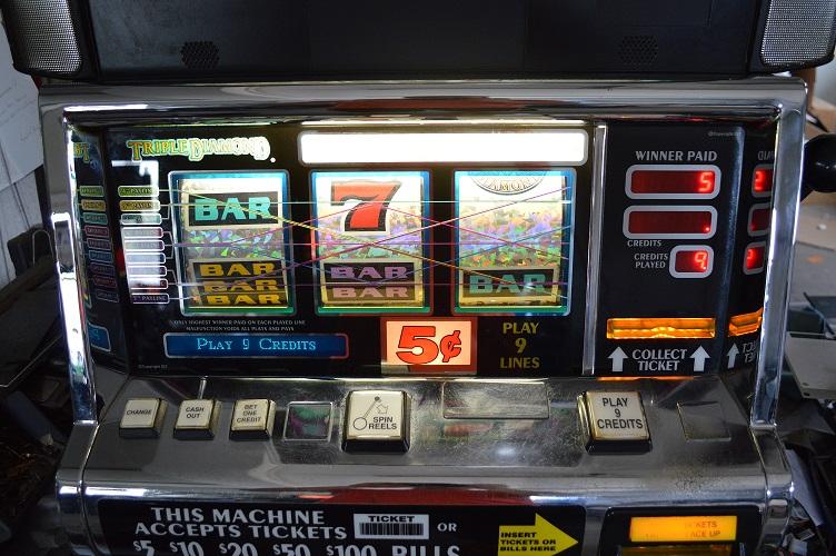 triple diamond 9 line slot machines unlimited