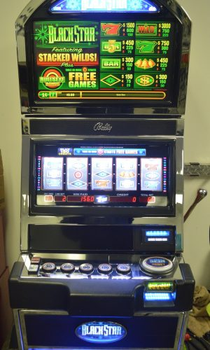 Blackstar slot machine
