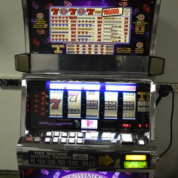 7x pay 5 reel slot machine