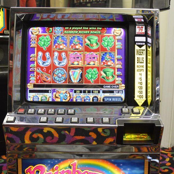 Rainbow Riches video slot machine