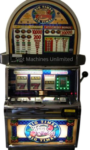 Big Times Pay Wild Cherry slot machine