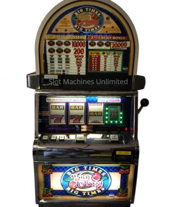 Big Times Pay Wild Cherry slot machine