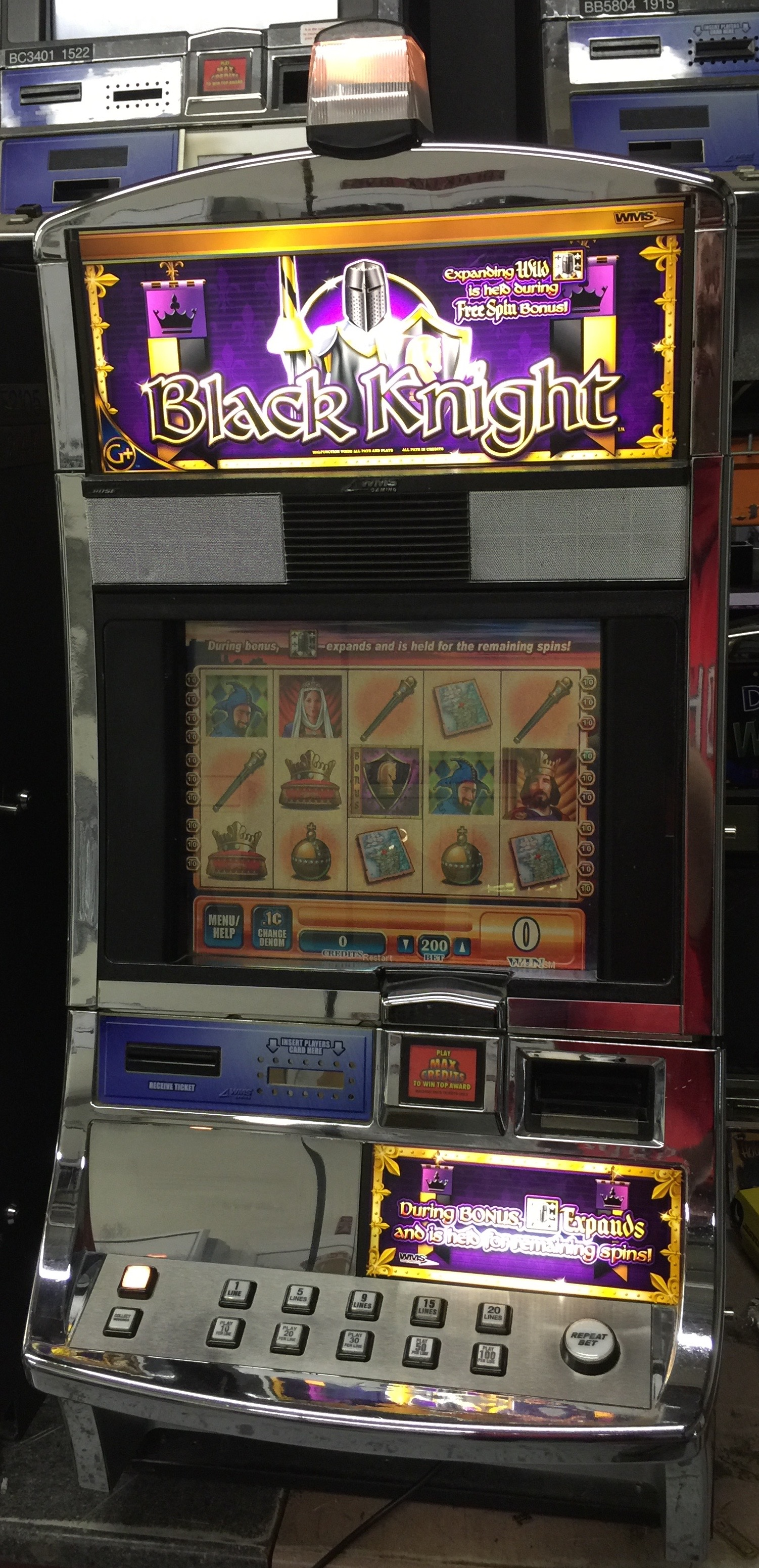 Black Knight Slot Machine