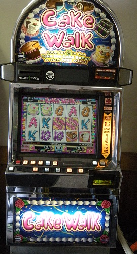 Cake Walk video slot machine