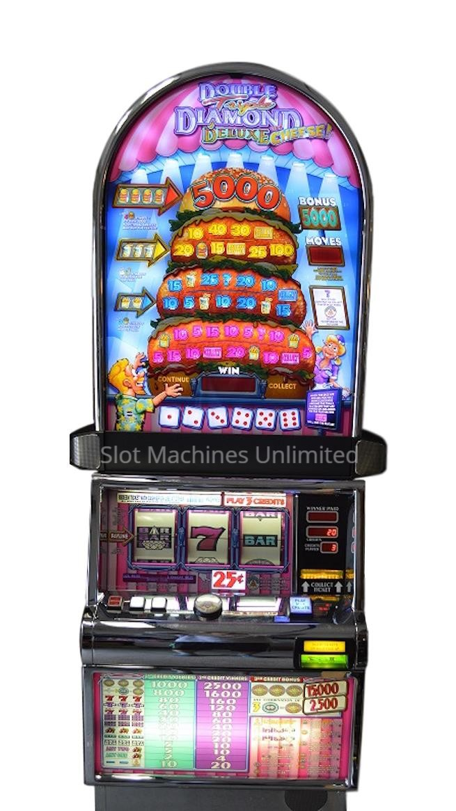 Hamburger Deluxe Slot Machine