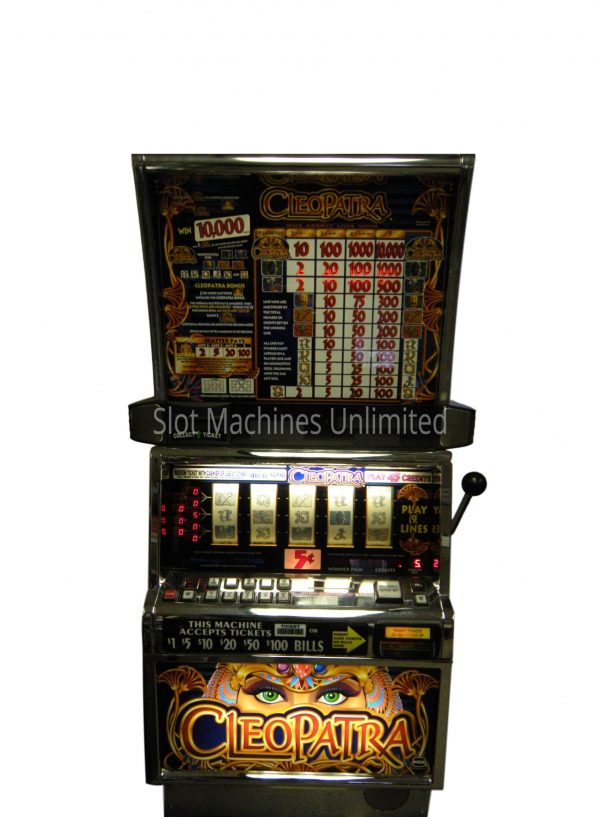 Cleopatra 5 reel slot machine