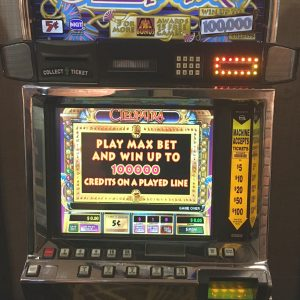 Cleopatra video slot machine