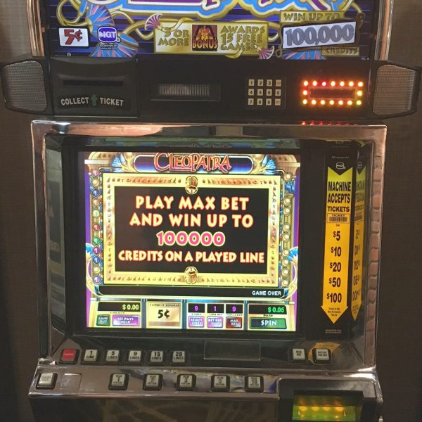 Cleopatra video slot machine