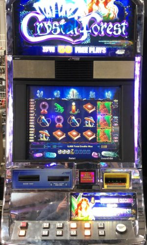 Crystal Forest slot machine