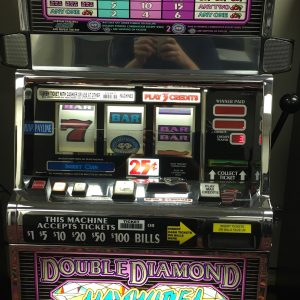 Double Diamond Haywire slot machine