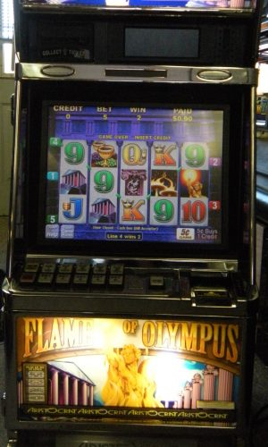 Flame of Olympus slot machine